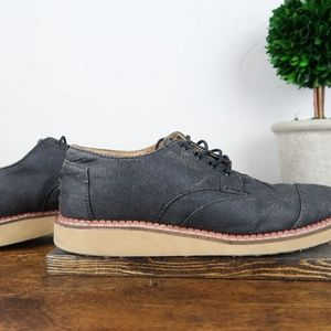 TOMS Brogue Lace-Up Shoes, Adult, Men's Size: M8